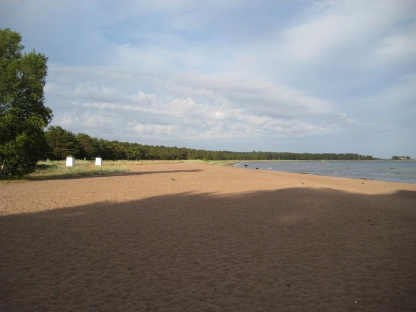 Sandstrand in Hanko