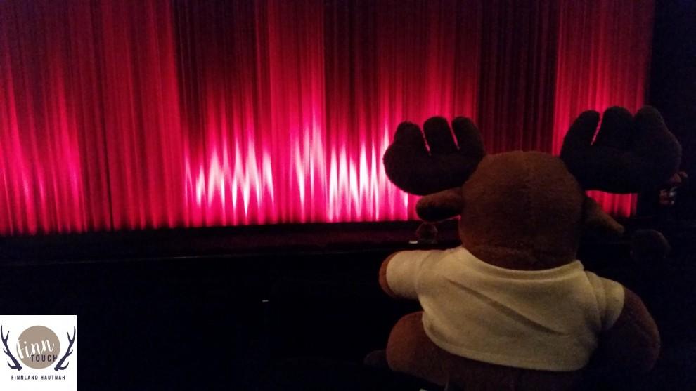 Auch Hannu-Pekka hatte seinen Spaß im Kino.