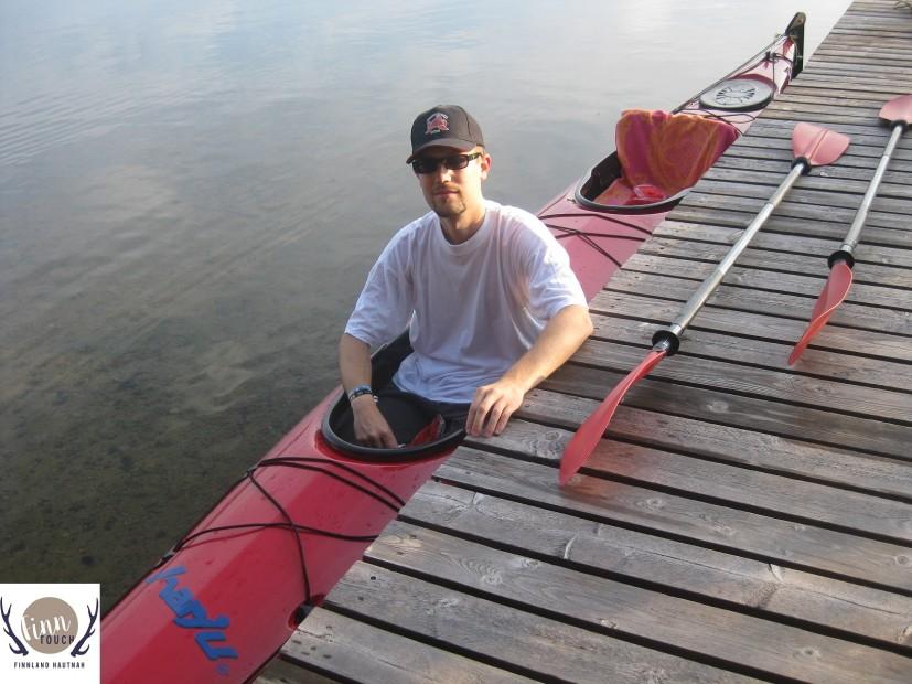 Los geht's mit dem Kanu auf den Puula-See!