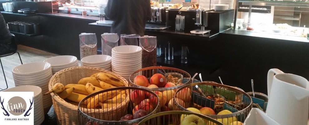 Nicht nur in Sachen Obst und Gemüse ist die Auswahl beim Frühstücksbuffet riesig.