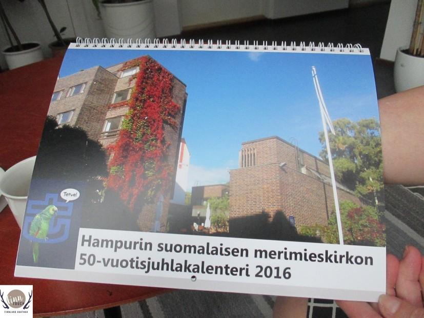 Seit 1966 ist die finnische Seemannskirche in ihren heutigen Räumlichkeiten beheimatet. Zu diesem Jubiläum wurde ein Kalender zusammengestellt.