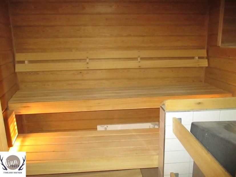 Steht allen Interessierten gegen Gebühr offen: Die Sauna der finnischen Gemeinde.