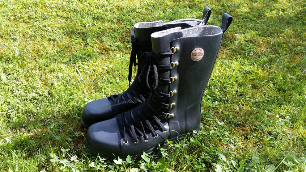 Gummistiefel zum Schnüren: Die Nokian Footwear Julia Lundsten Lace Ups