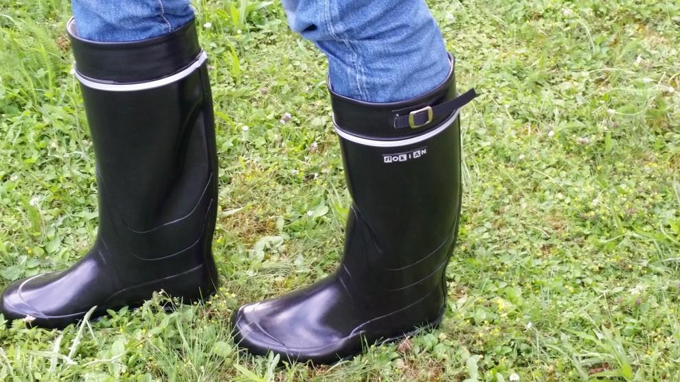 Machen im Garten schonmal eine gute Figur: Nokian Footwear Kontio Classic