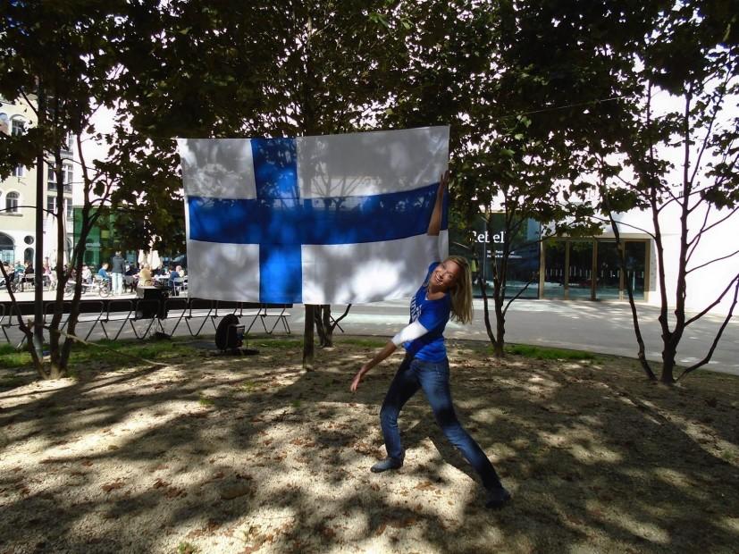 So sieht echte Finnland-Liebe aus! Bild: © Tarja Prüss