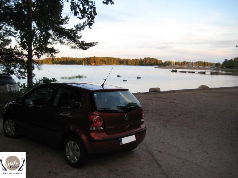 Mit dem Mietwagen solltest Du nicht unbedingt ins Zentrum von Helsinki fahren. Sonst bist Du damit aber einfach am flexibelsten und kommst auch an abgelegene Orte in der Natur.