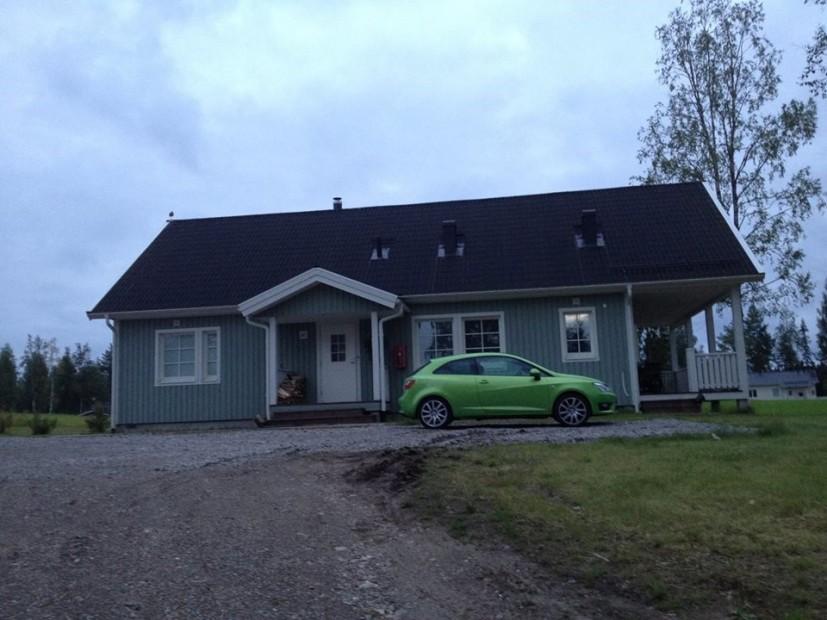 Gemütlich übernachten in der Nähe von Kajaani.