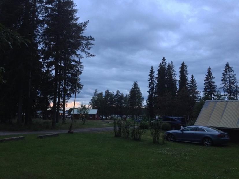 Nächtliche Impressionen aus Piteå.