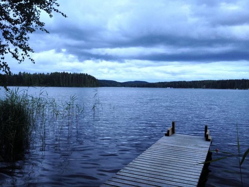 Die finnische Seenplatte bei Anttola - einfach traumhaft!