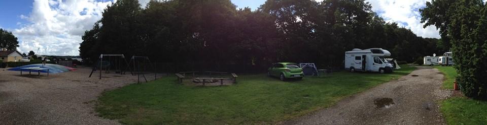 Viel Platz zum Ausbreiten auf dem Campingplatz Sonderballe Strand