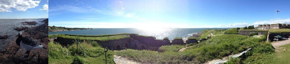 Immer wieder ein Vergnügen ist ein Besuch auf Suomenlinna.