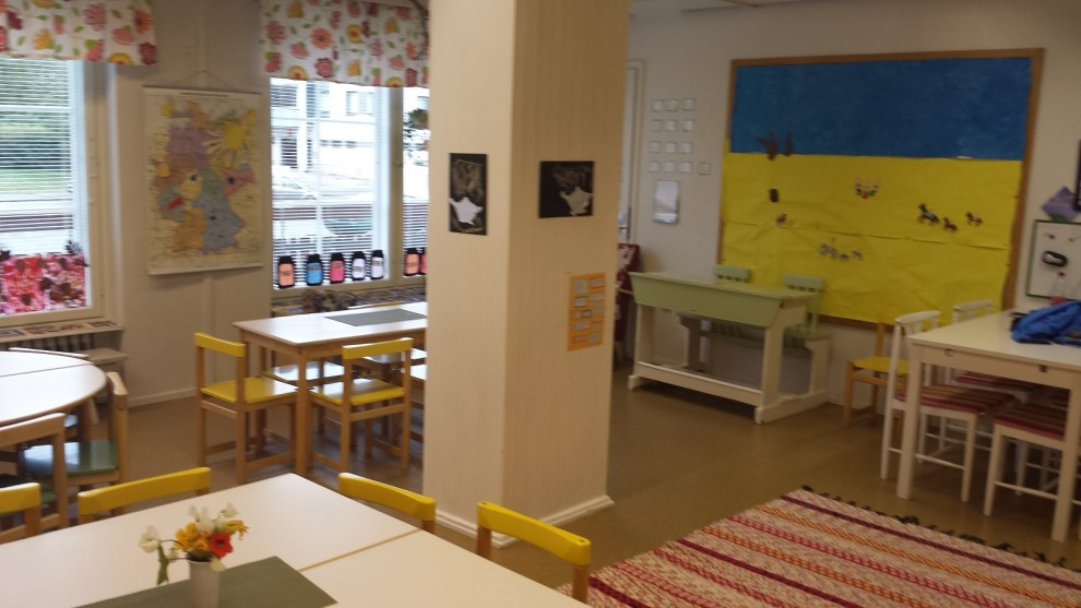 """So schön haben es die Kids im deutsch-finnischen Kindergarten """"Saksanpähkinä""""."""