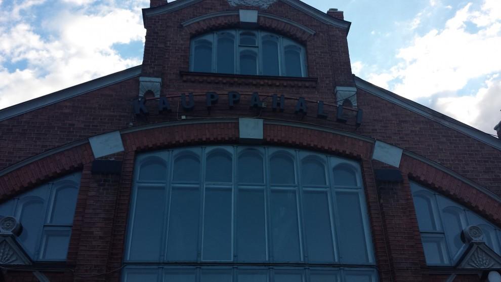 Die Markthalle von Oulu ähnelt ein wenig ihrem Pendant in Helsinki.