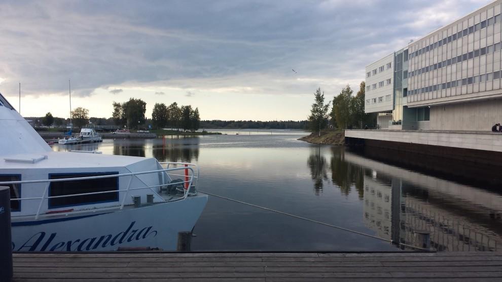 Wohnen direkt am Wasser - das ist Oulu!