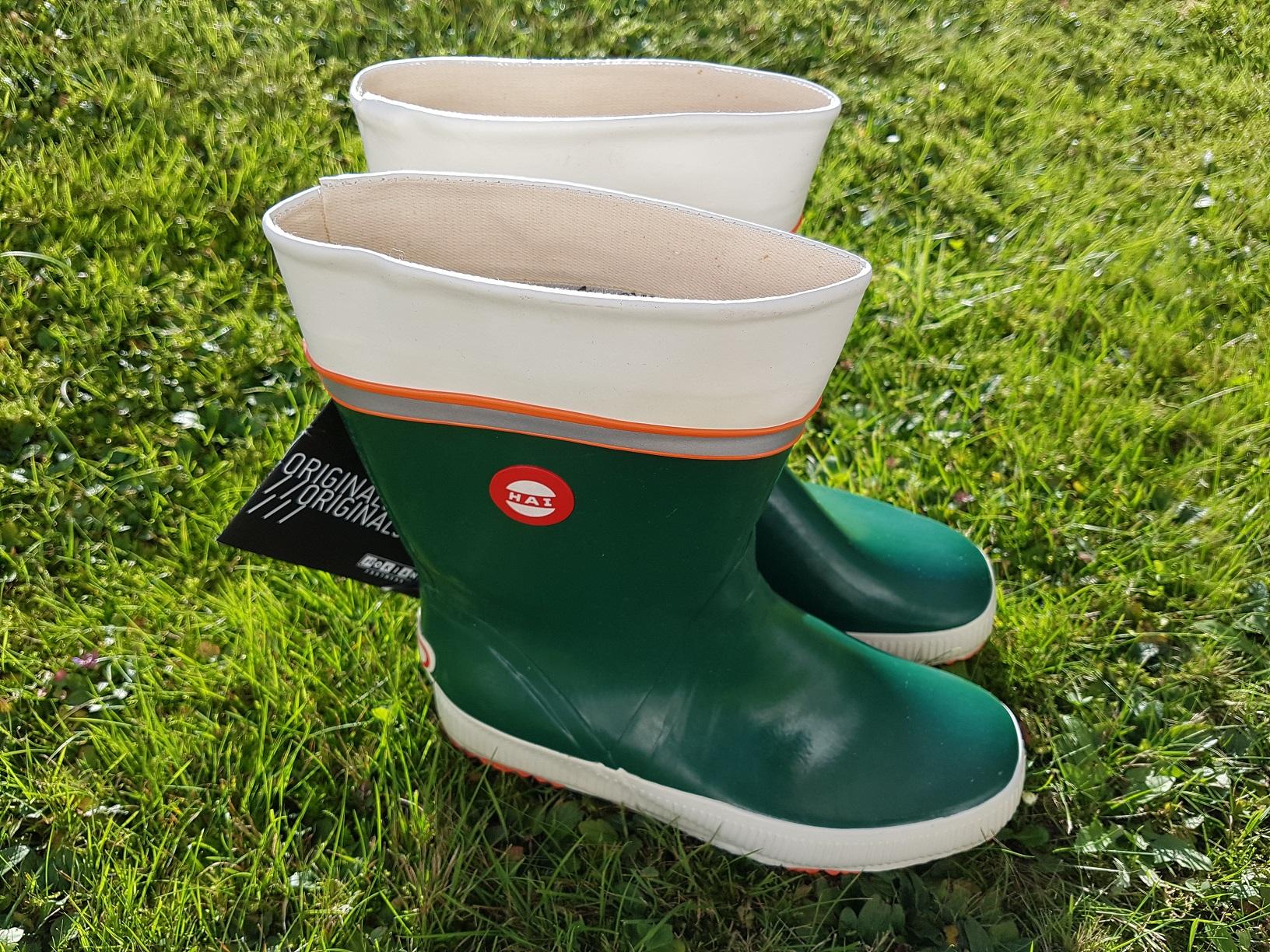 Hai Stiefel Green Tricolor, Größe 39