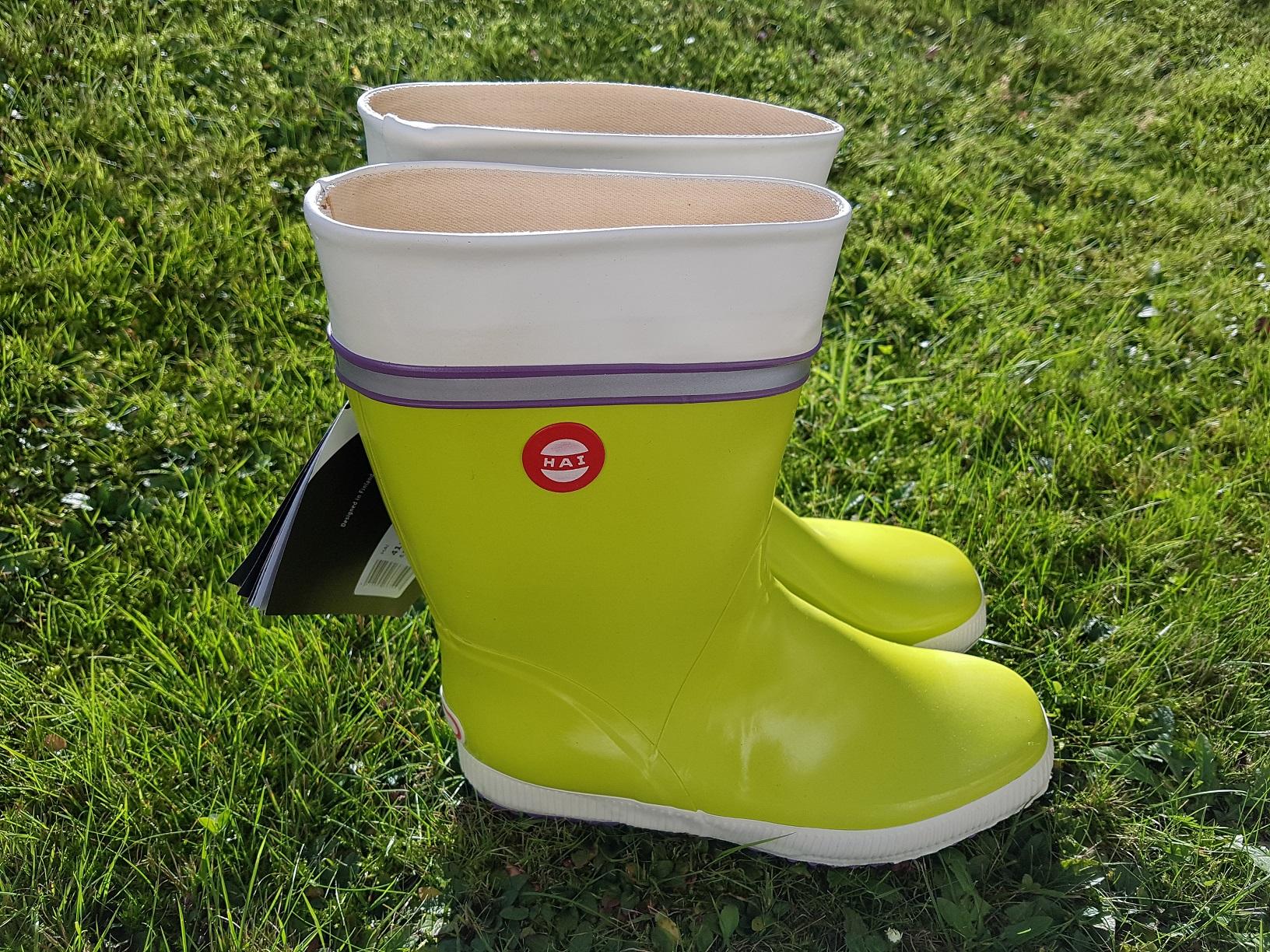 Hai Stiefel Lime Tricolor, Größe 41