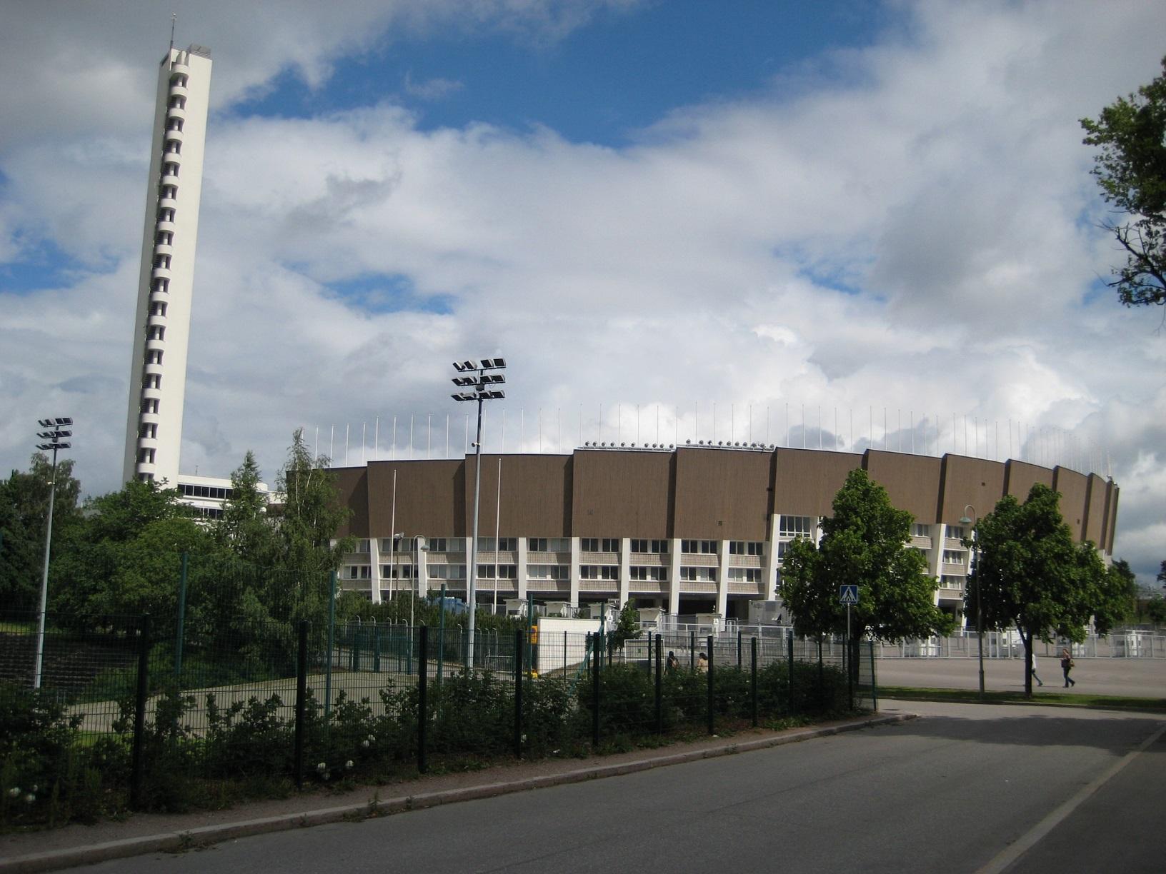 Das altehrwürdige Olympiastadion in Helsinki ist auch in die Jahre gekommen und wird komplett renoviert.