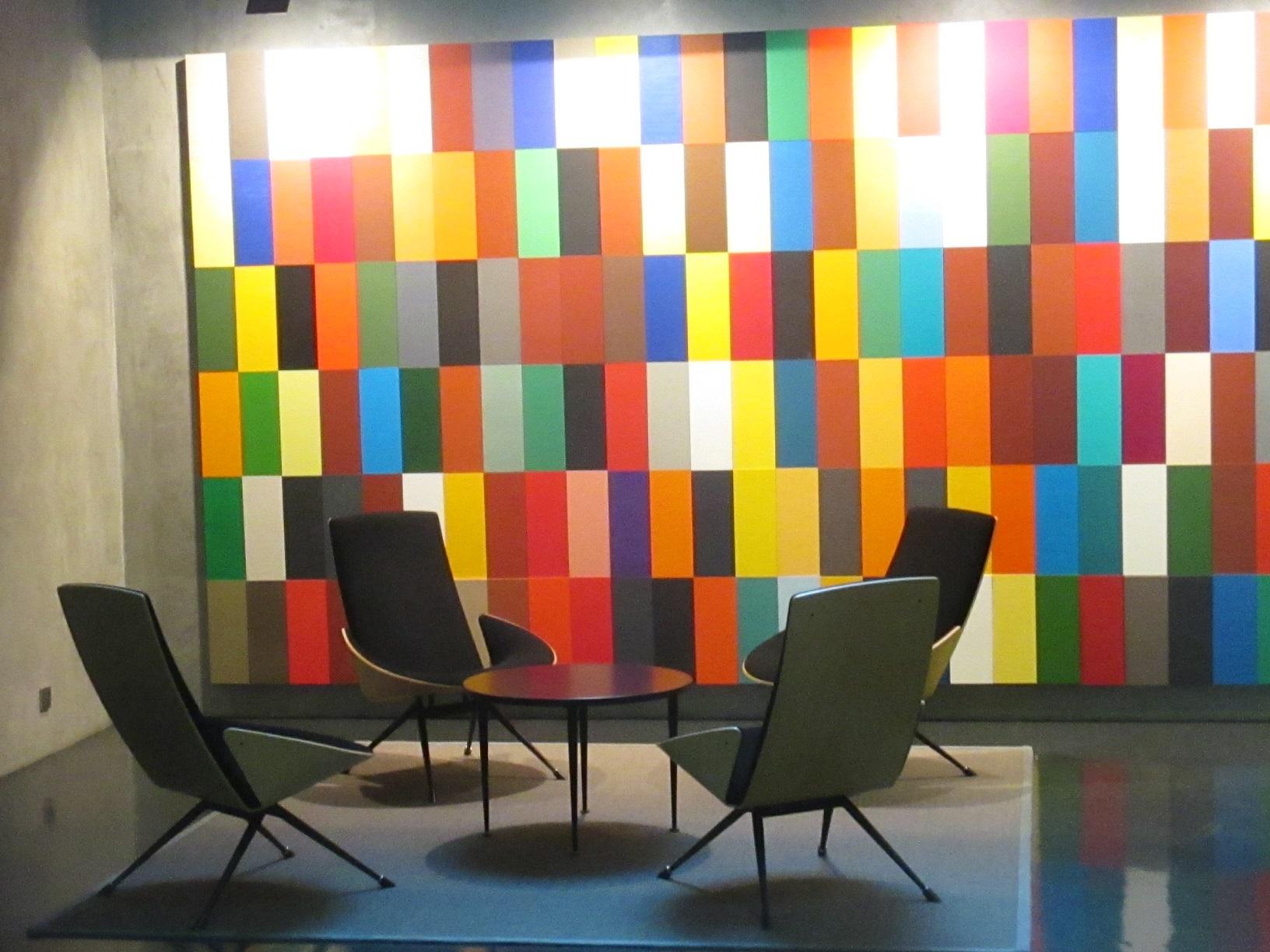 Finnisches Design im Inneren der Botschaft von Finnland in Berlin.
