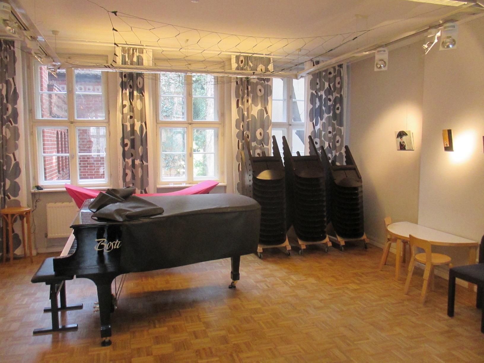 Ideale Räumlichkeiten für Musiker im Finnland Zentrum.