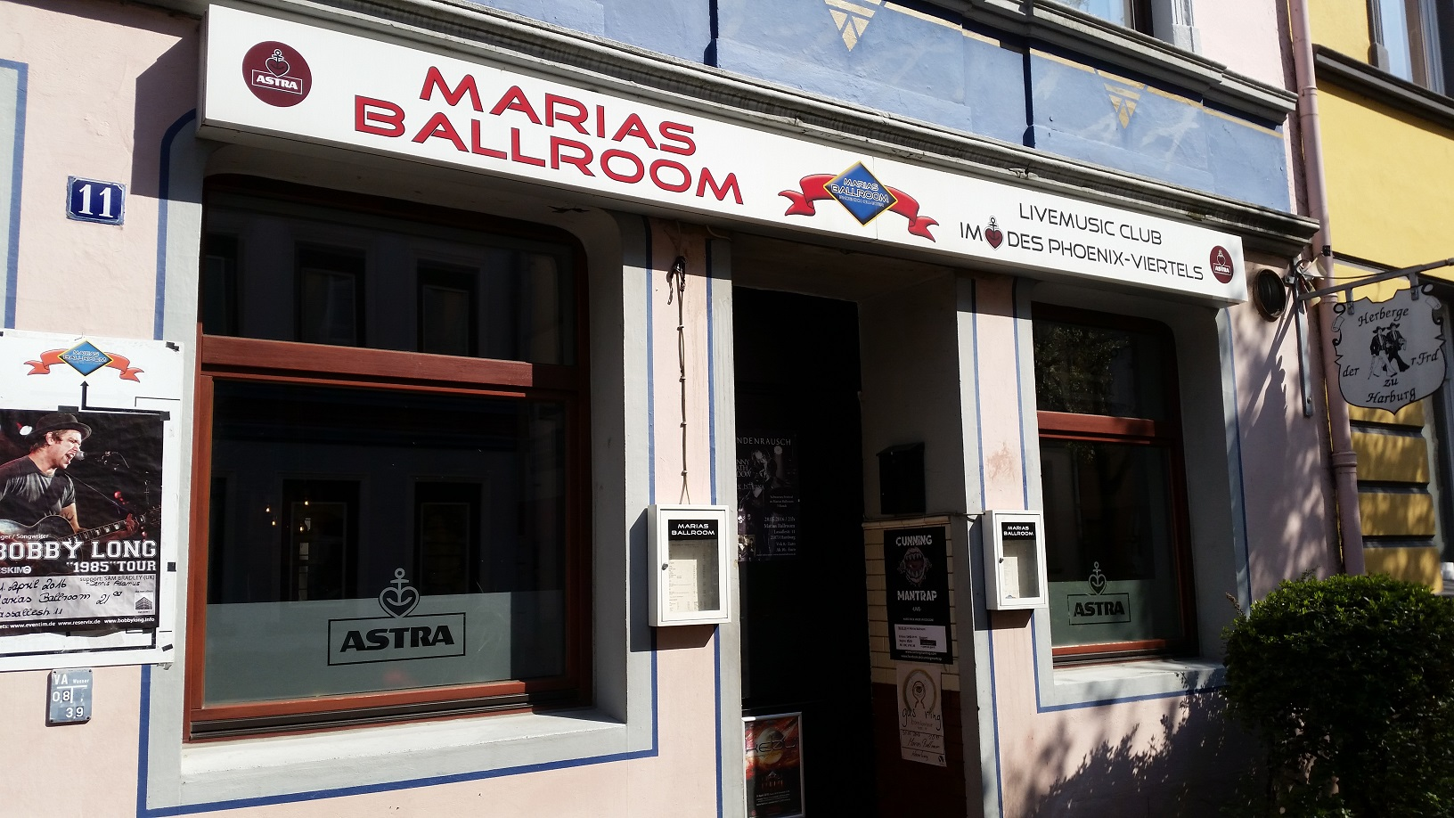 Im Marias Ballroom in Hamburg ist Kebu ein gerne gesehener Gast.