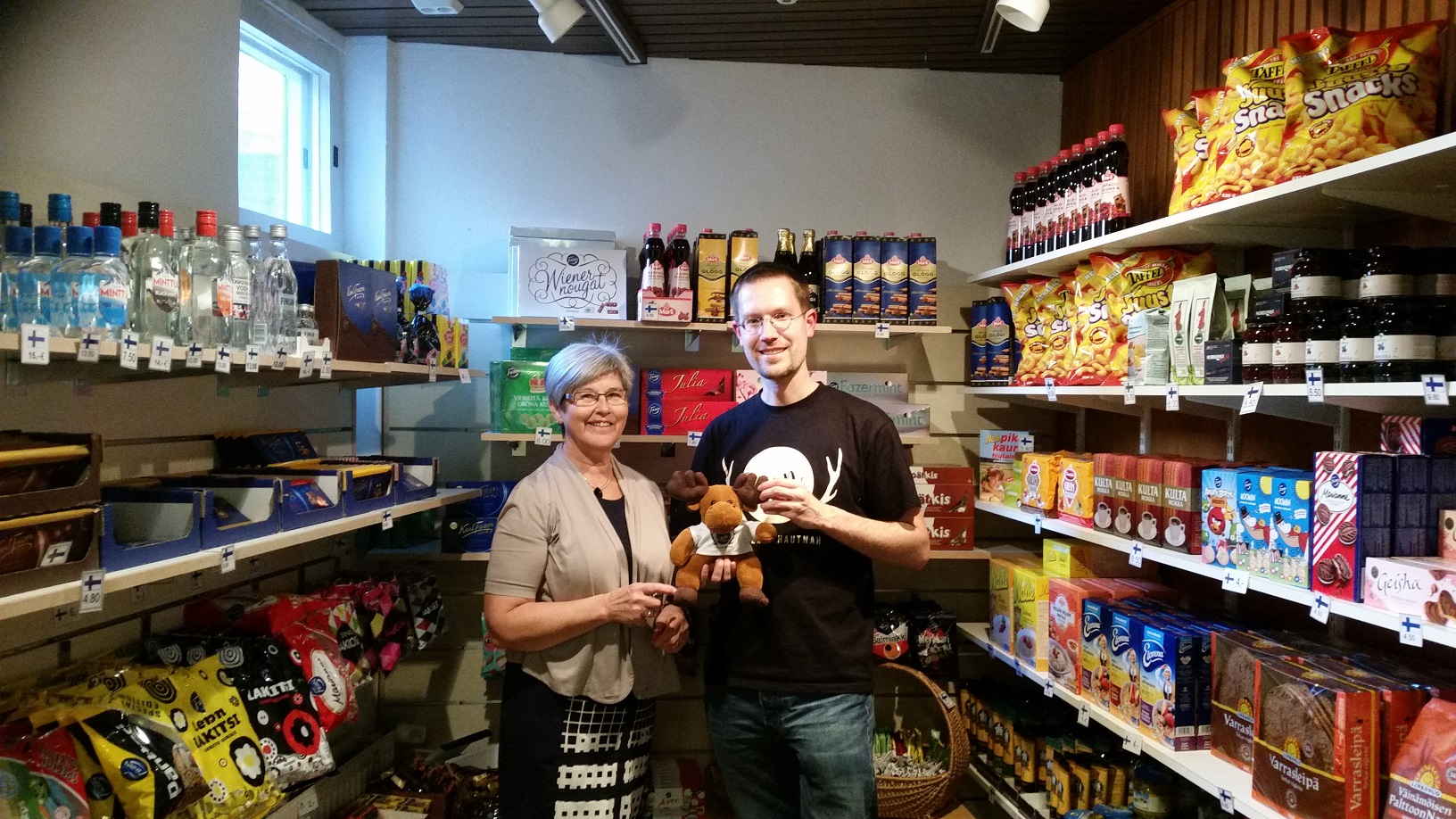 Finn Shop in der finnischen Seemannskirche