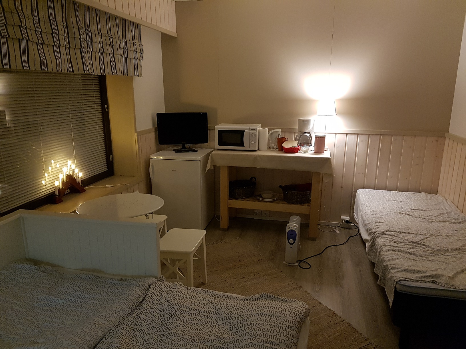 Doppelzimmer im Guesthouse Borealis Rovaniemi