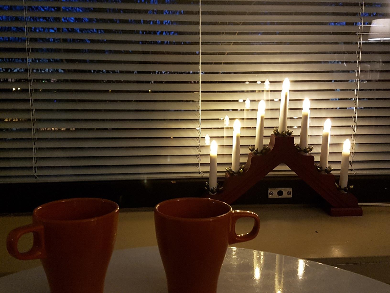 Gemütliche Beleuchtung im Guesthouse Borealis