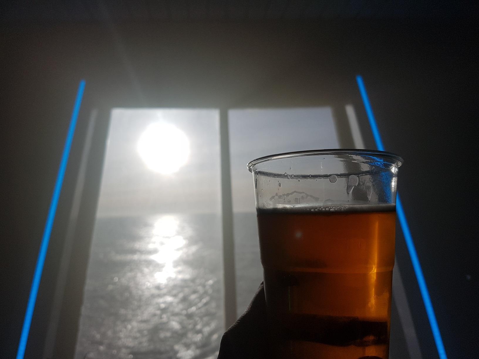 Bier und Sonne