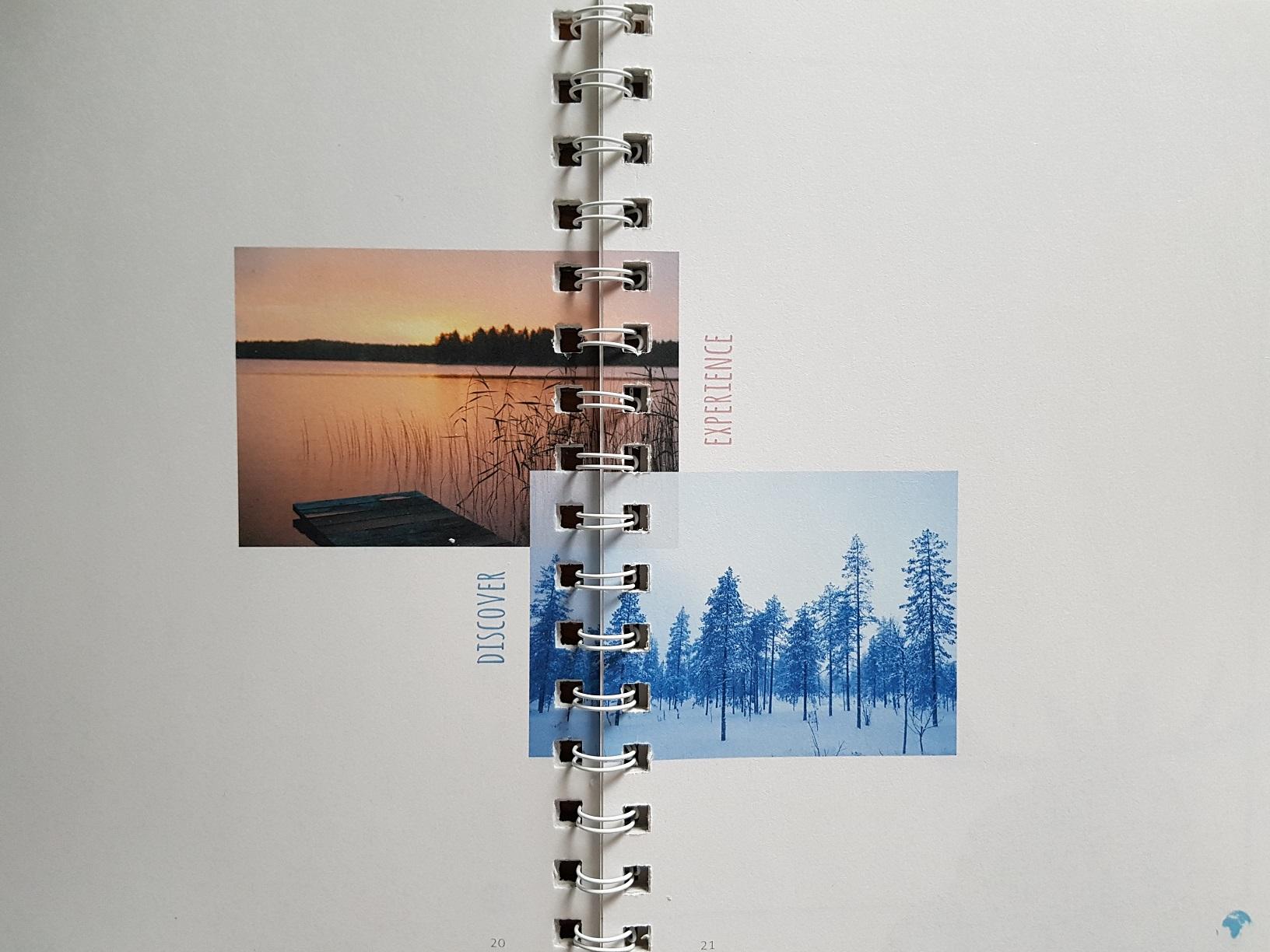 Inhalt des JourneyBook Skandinavien