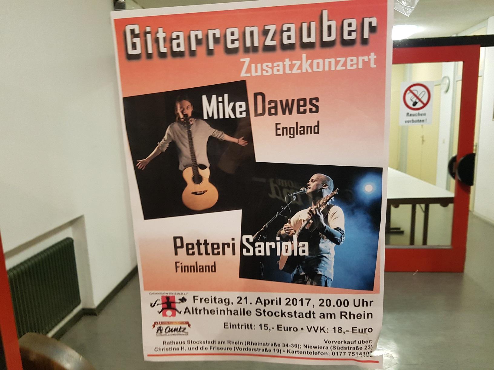 Mike Dawes und Petteri Sariola