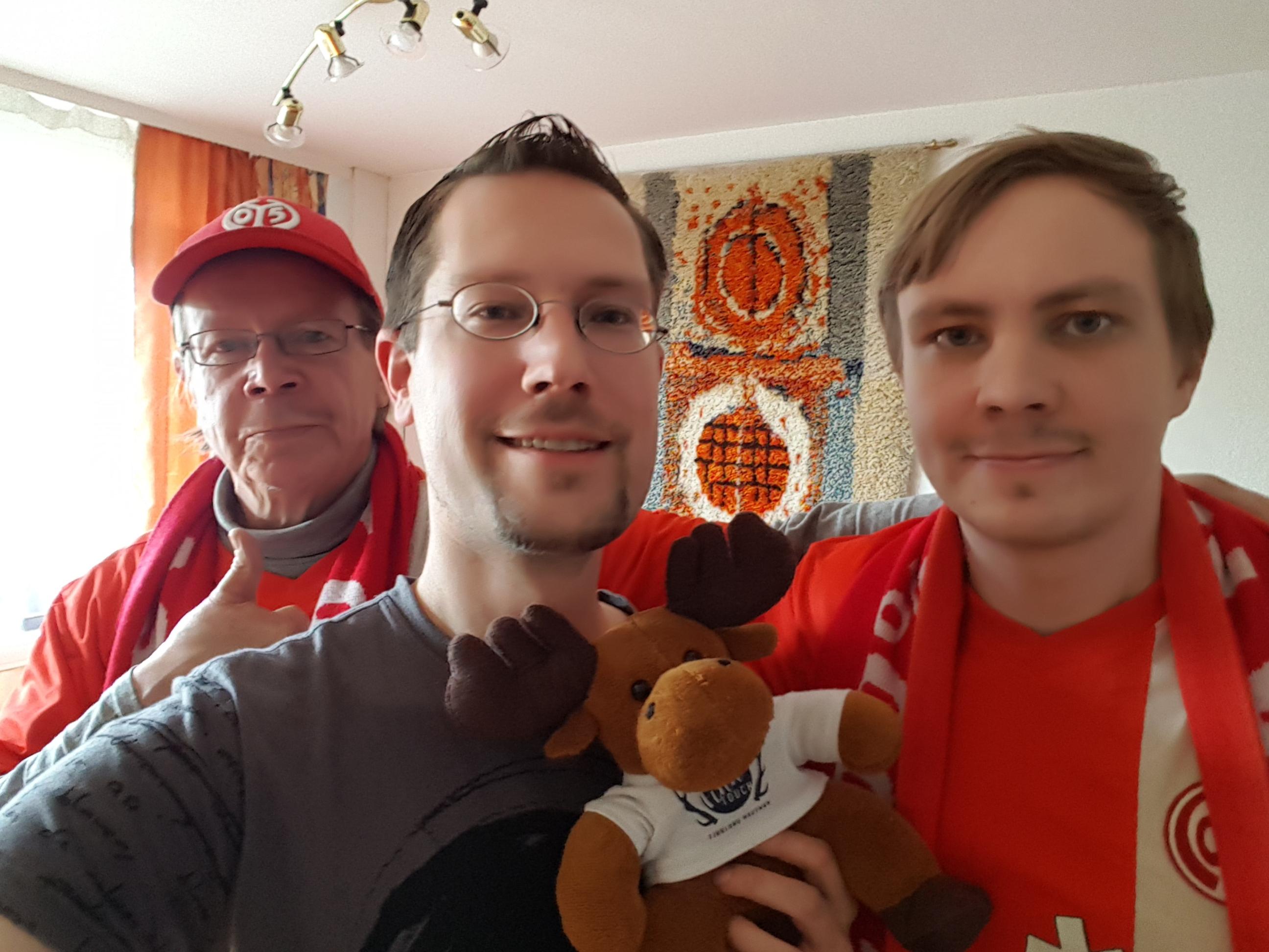 FinnTouch Hannu-Pekka trifft den Fan-Club-Finnland Mainz 05