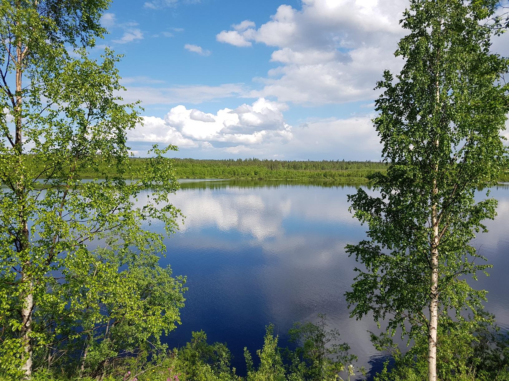 Kemijoki Fluss