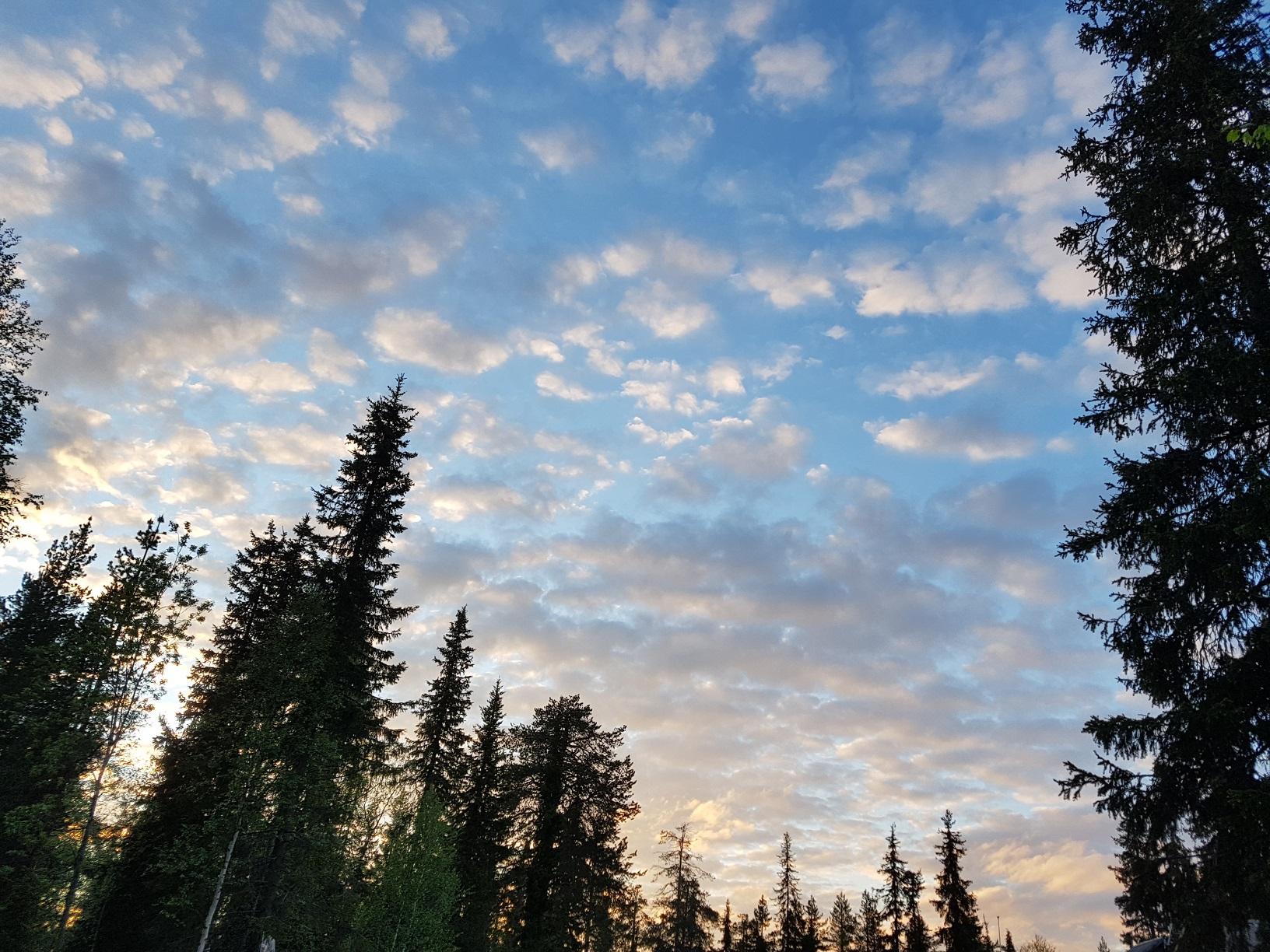 Mitternachtssonne Lappland