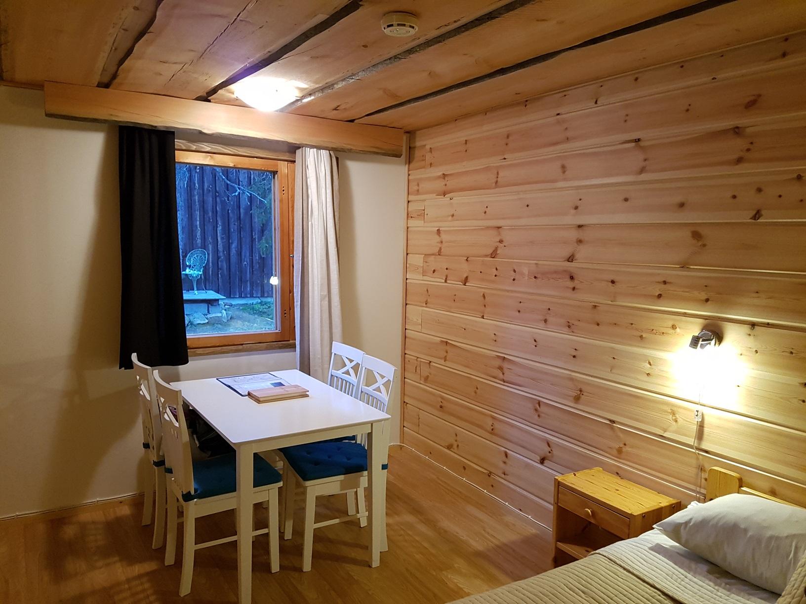 Sitzecke Tankavaara Gold Village Hotel