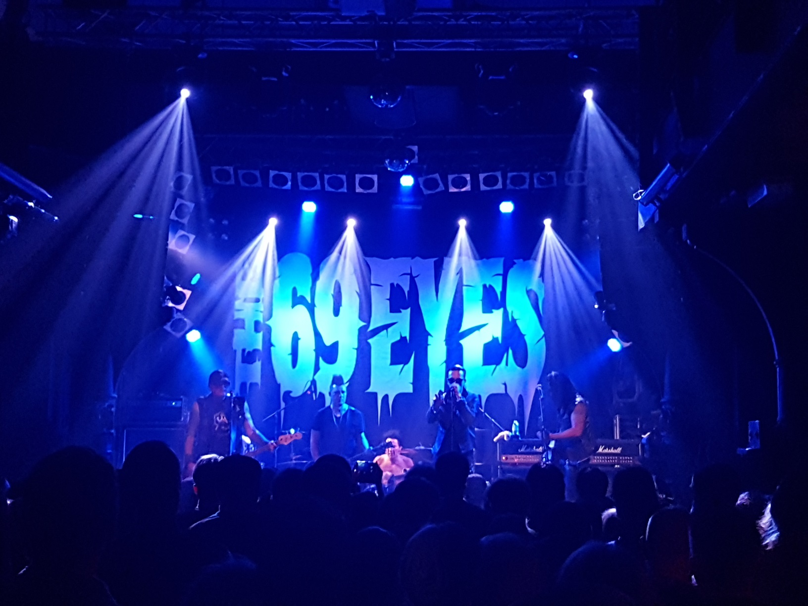 The 69 Eyes live in Hamburg