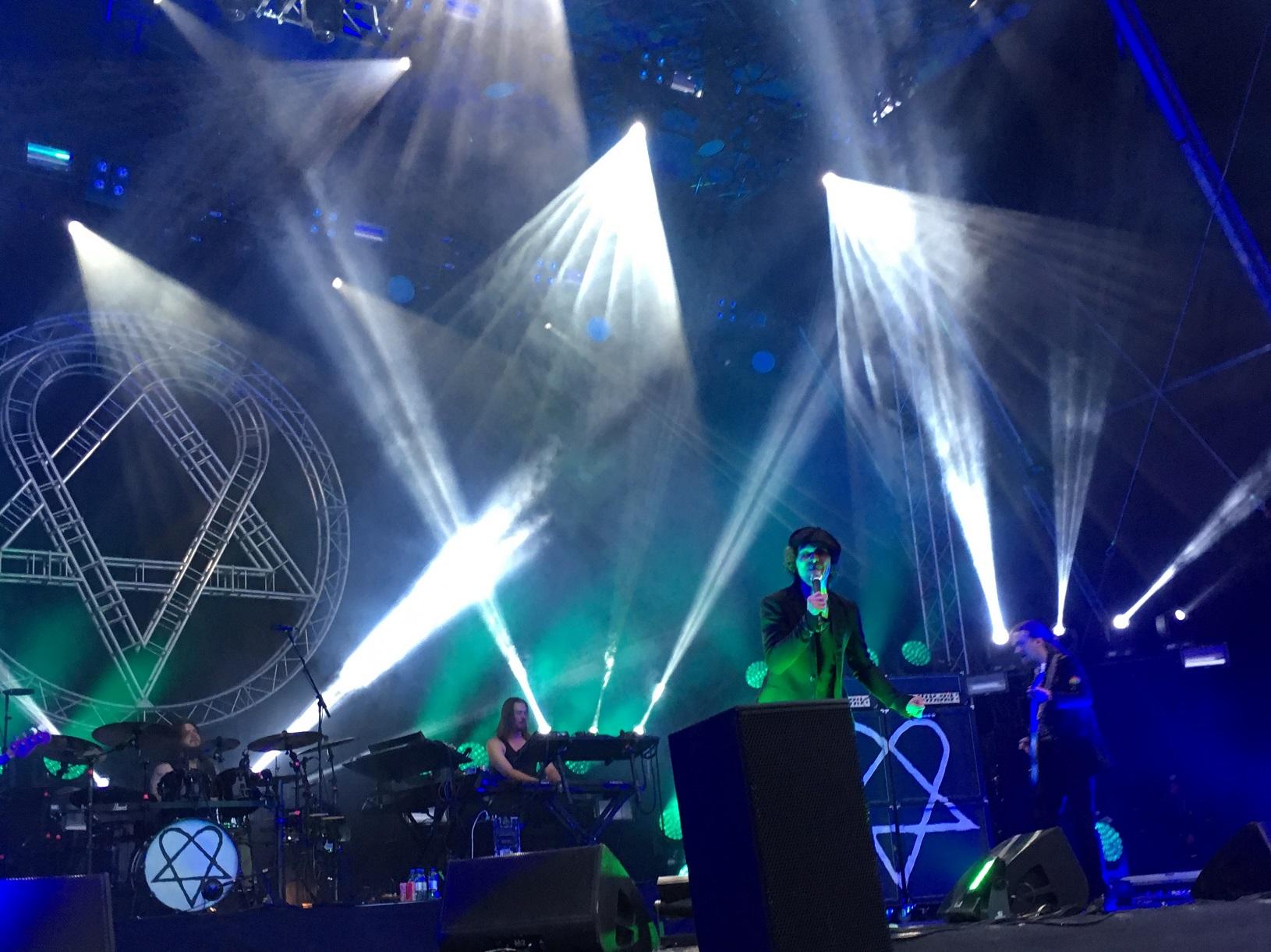 Ville Valo & HIM @ Tuska Festival