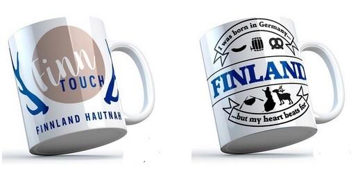 Hochwertige Finnland Tassen