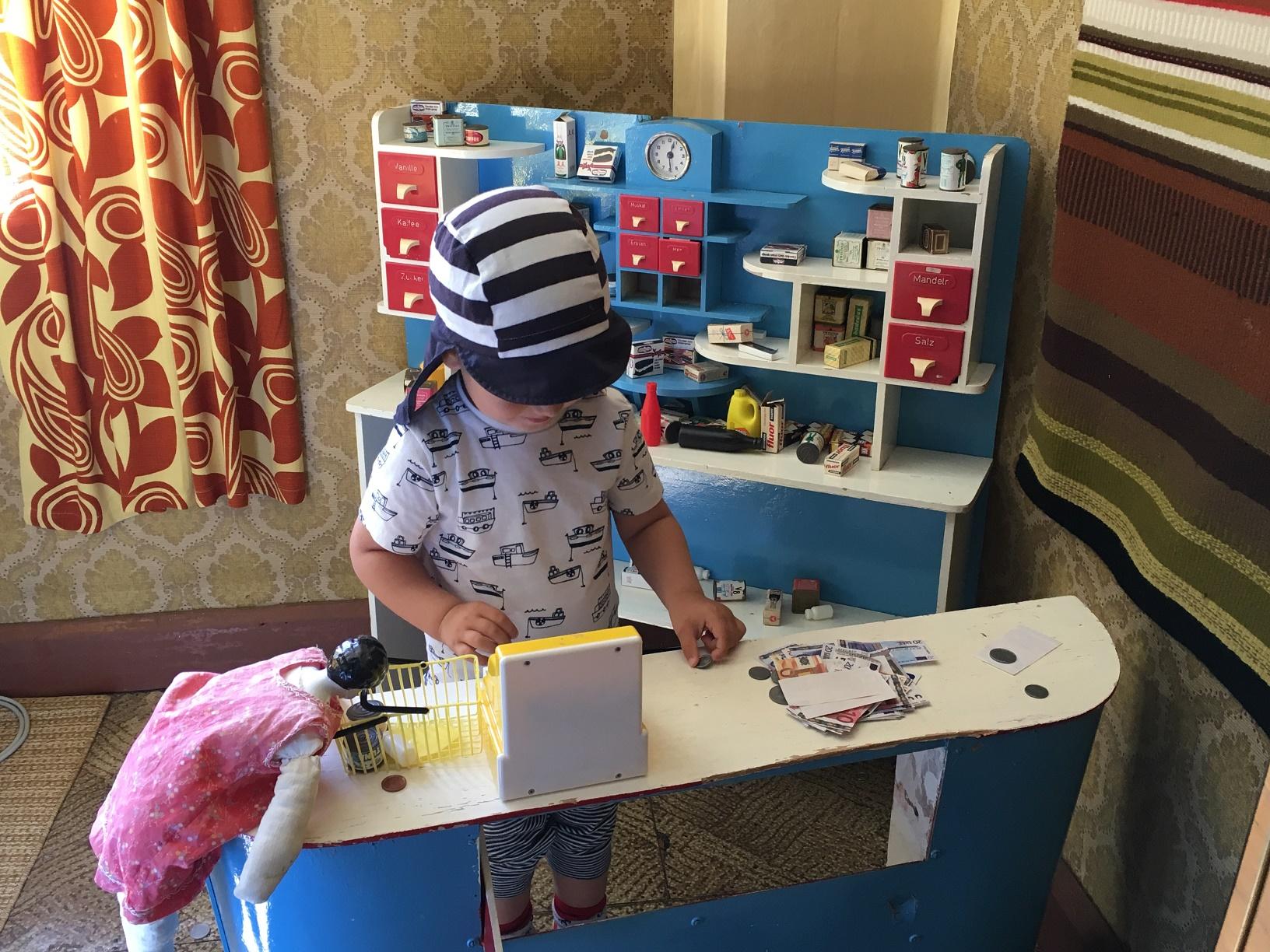 Kaufladen für Kinder in Sagalund