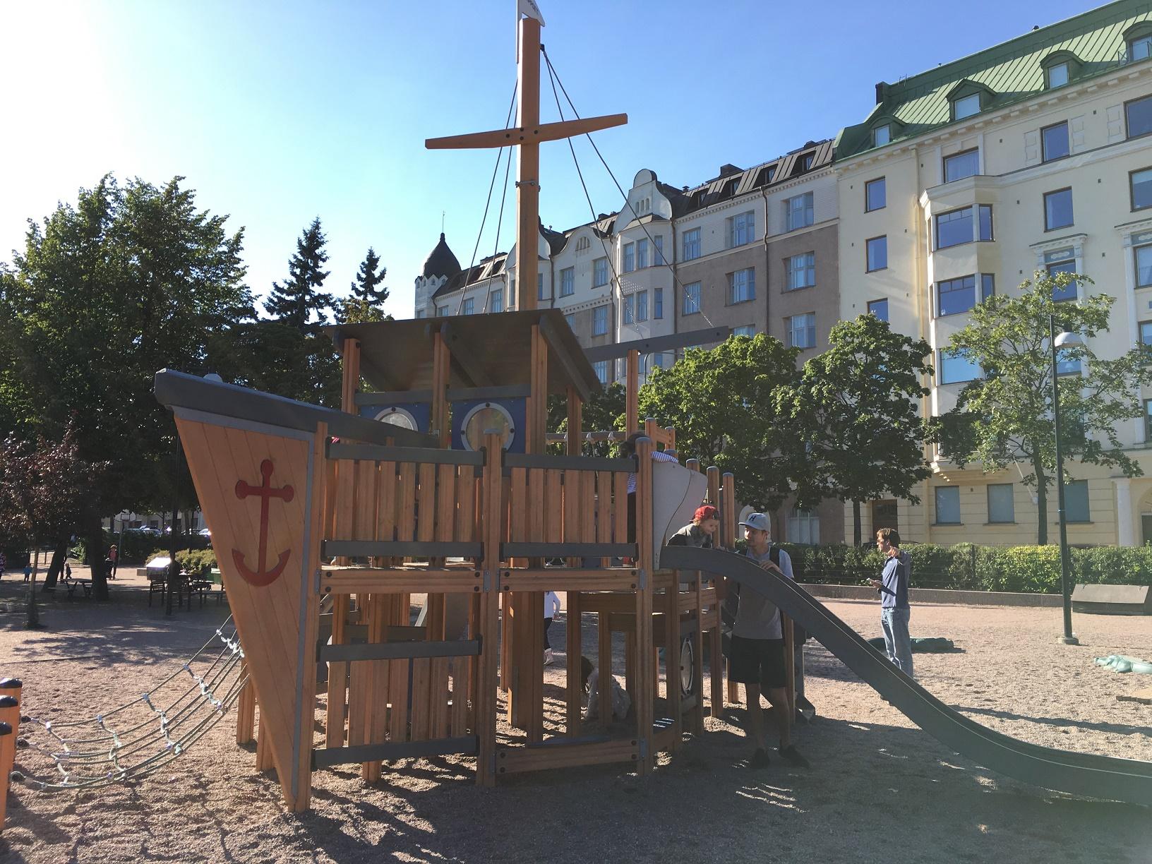 Spielplatz in Helsinki