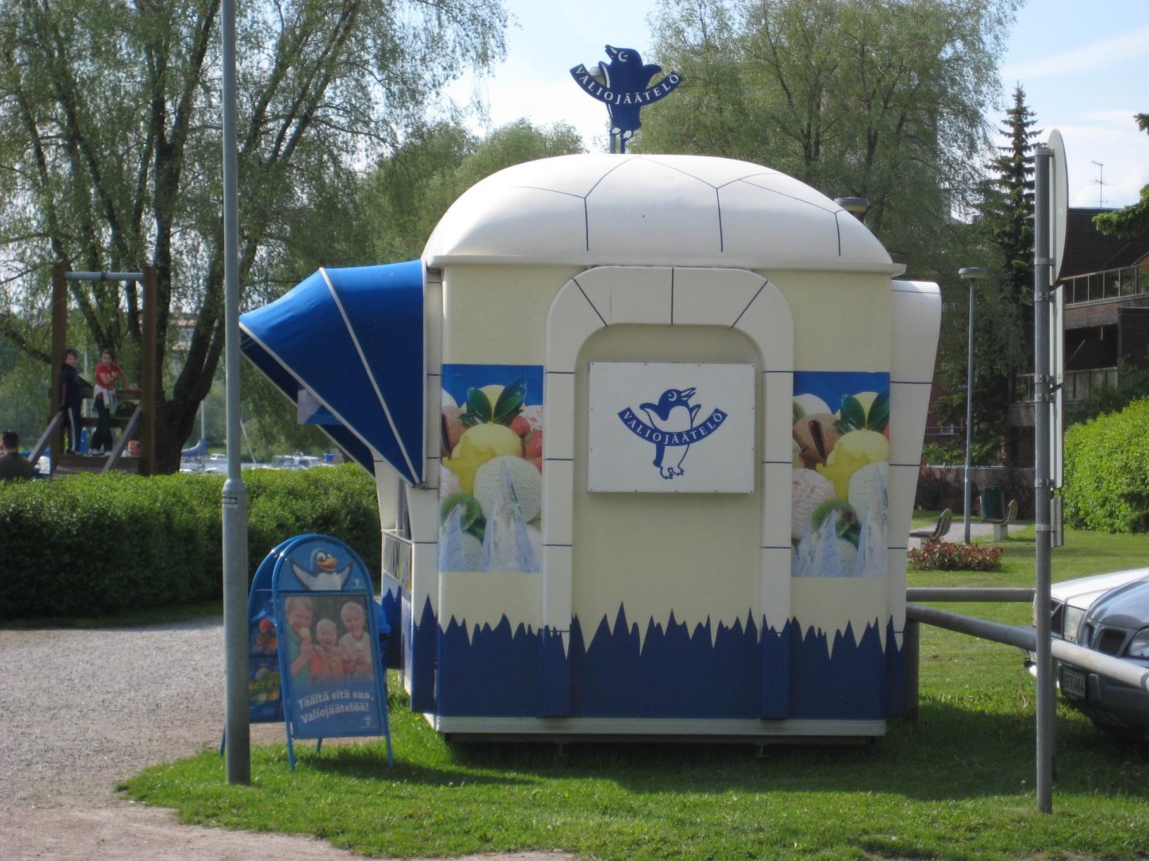 Eis in Finnland