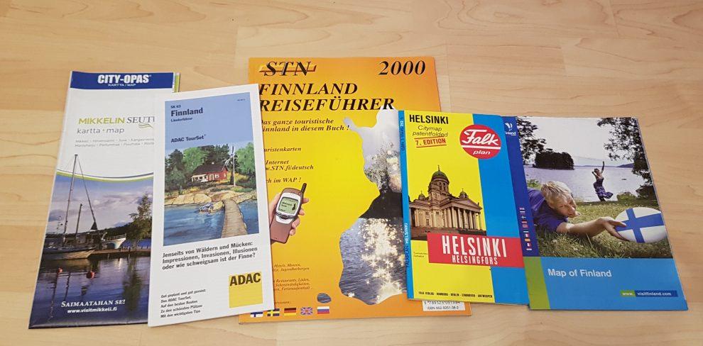 Finnlandbegeisterung als Kartensammler