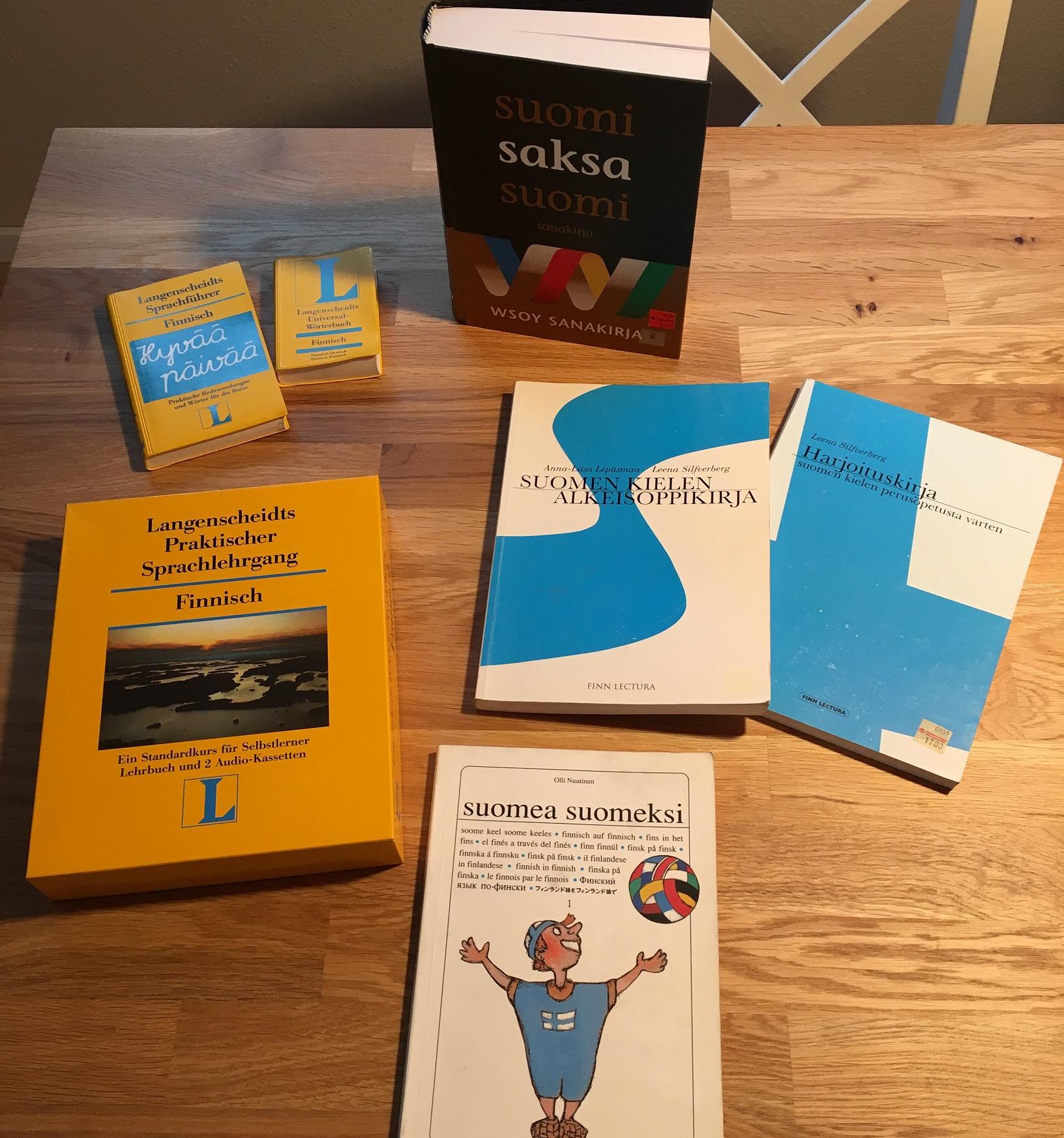 Bücher zum Finnisch lernen
