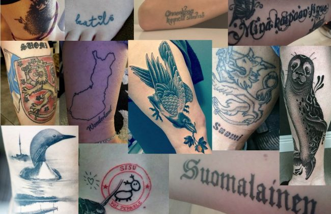Finnland-Tattoos