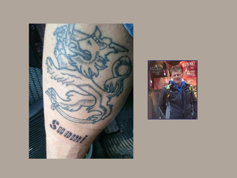 Suomileijona Tattoo