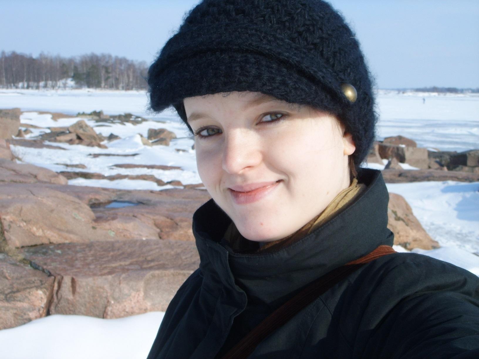 Helsinki Lauttasaari im Winter