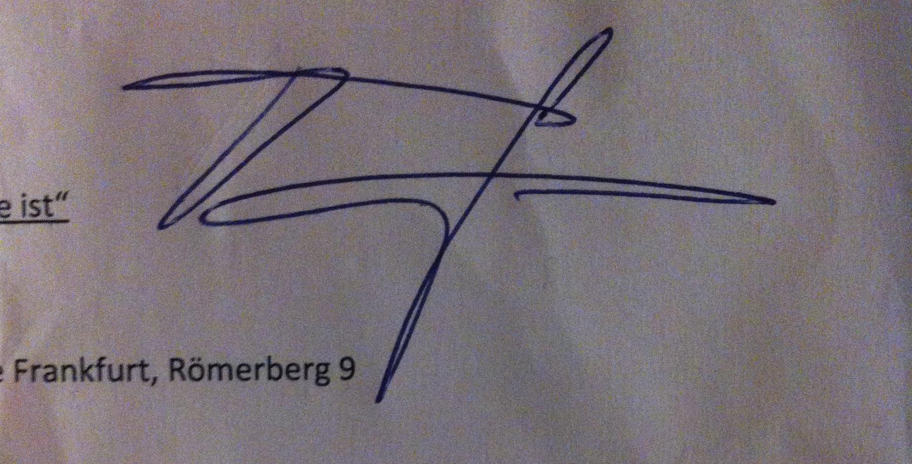 Autogramm Taavi Soininvaara