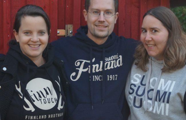 Dein FinnTouch-Team: Tanja, René und Caro (v.l.n.r.)