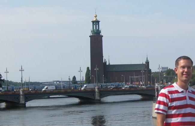 René in Stockholm