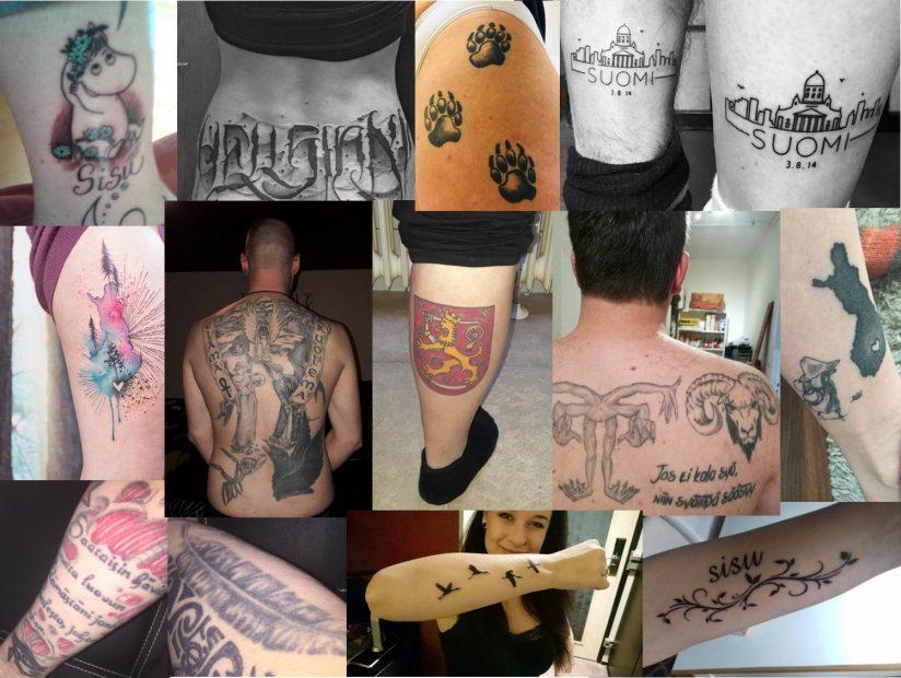 Finnland-Tattoos - Suomi-Tattoos