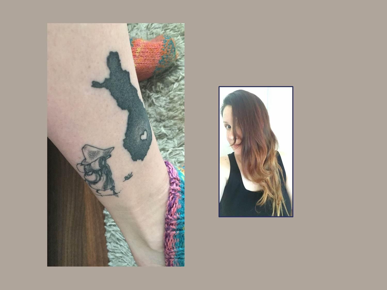 Suomi Mumin Tattoo